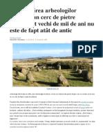 Dezamăgirea arheologilor scoţieni