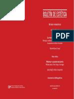 BOLETÍN DE ESTÉTICA del Centro de Investigaciones Filosóficas. Programa de Estudios en Filosofía del Arte, AÑO XIV INVIERNO 2018 N 44.pdf