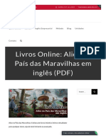 Livros Online_ Alice No País Das Maravilhas Em Inglês (PDF)