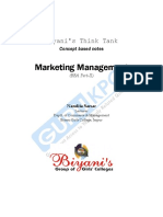 Marketing Management(BBA)P 2