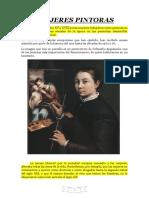 Las Mujeres Pintoras