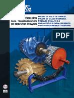 Folleto de Poleas Para Banda Transportadora y Rodillos (Espanol)