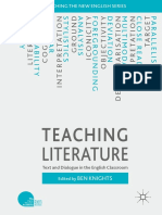Teaching Literature