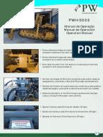 PW-5000 Maintenance Manual (Manual de Manutenção)