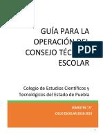 Guía Para La Fase Intermedia de Cte Final Formatos Vo. Bo. 1
