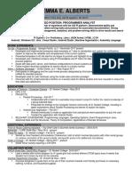 gp resume