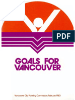 Goals for Vancouver (February 1980)