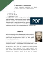 Biografías de Los 5 Emperadores Llamados Buenos