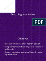 ppt texto argumentativo