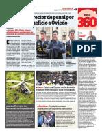 Tribulaciones de Oviedo en Correo de Lima, enero 29 2019
