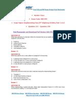PassLeader 300-070 Exam Dumps (121-150)