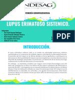 Lupus Erimatoso Sistemico.