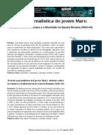 Prática Jornalística do Jovem Marx