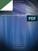 Manuscript Releases