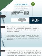 Components of Mental Status Examination