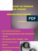 Lecture 2 - Part 2 - African Enslavement - Trade