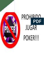 Prohibido Jugar Poker