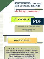 CLASE de LA Monografia..02
