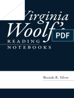 Woolf Reading Notebooks