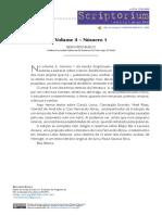 Revista Scriptorium - PUCRS