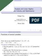 Slides Multivariate Calculus Wima 2018