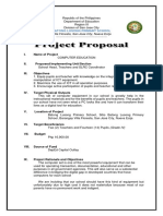 Project Proposal DepEd CAPITAL OUTLAY