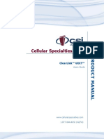 Cellular Specialties Inc. ClearLink UDIT Users Manual