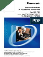 IP Telephones Propietary TDA30--TDA600