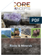 Core Concepts Rocks Minerals