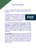 Simulacion de Actos Derecho Civil Paraguayo