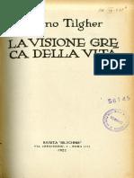 Tilgher Visione Greca Della.pdf