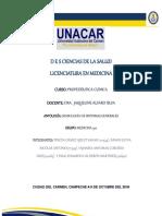 Semiología de los Sintomas generales por alumnos de la UNACAR