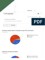Pesaquisa Janeiro 2019 Revista Sociedade Militar - Formulários Google