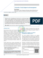 Postpartum Psychiatric Disorders Early Diagnosis A