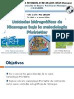 Prest_nmdc15-Junio-2016_ts Cuencas Hidrográficas Nicaragua