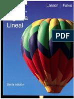 Fundamentos de Algebra Lineal Larson