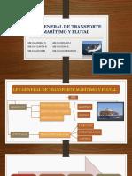 Ley General de Transporte Marítimo y Fluval