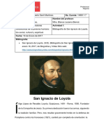 Bibliografía San Ignacio Loyola
