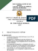7. Fracturas Distales de Humero