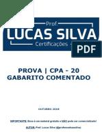 PROVA CPA 10 - AMBIMA - LUCAS SILVA