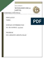 Simuladores de eventos discretos. ( Tarea Simulacion - Ivan Hurtado 15131292).docx