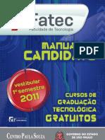 Manual Vestibular 1s 2011 Fatec