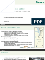 Amtrak Cascades Update