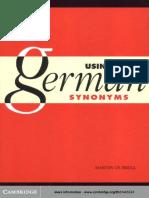 Extracto Using German Sinonyms