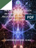 Programa de Sanación Bioenergetica Para La Prevencion y Tratamiento de Adicciones