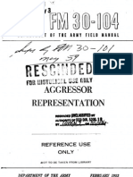FM 30-104 Aggressor Representation