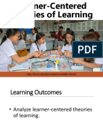 Learner-Centered Theories of Learning