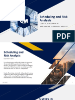 Scheduling Risk Analysis
