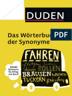 Extracto Duden Rterbuch-Der Synonyme