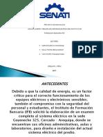 presentacion tesis EETTE601- instalacion electrica de instituto